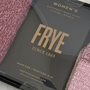 Frye Accessories - 🌵Frye new in box 2 pairs of boot socks